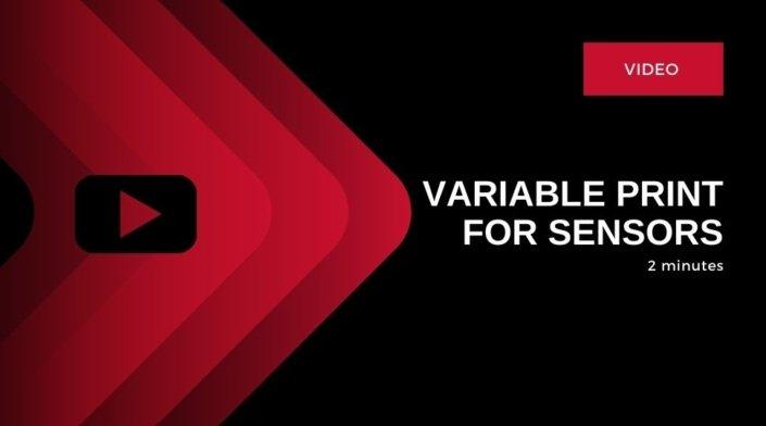 Sensor Labels, Automotive Labels, Tailored Label Products