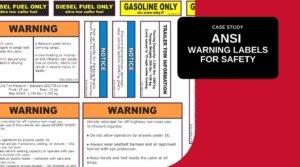 ANSI Warning Labels, ANSI Labels, ANSI Decals