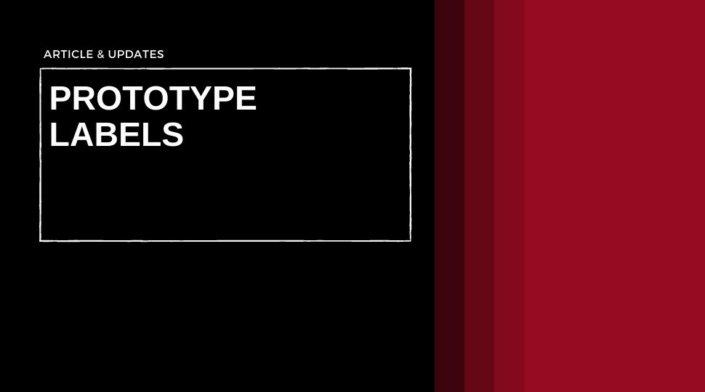 Prototype Labels, Sample Labels, Short Run Labels