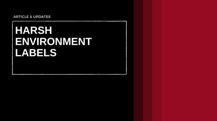 Harsh Environment Labels, Durable Labels, Industrial Labels