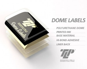 Anatomy of a high quality dome label from TLP