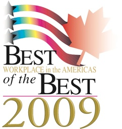 best workplace in the americas of the best 2009