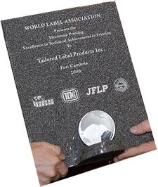 TLP wins WORLD LABEL ASSOCIATION award