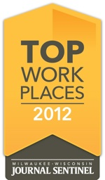 top work places milwaukee, Tailored Label recognized