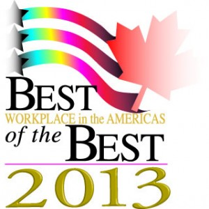 best workplace in the americas of the best 2013, Tailored Label Products Inc