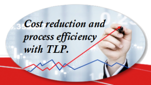 TAP3 = Cost Reduction and Process Efficiency with TLP.