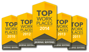 TLP named to Journal Sentinal Top Workplaces list for 5th year in a row.