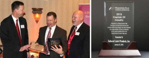 TLP honored with Captain of Industry award by local chamber of commerce