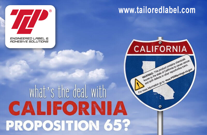 Prop 65 Warning Label, California Prop 65 Warning Labels, Prop 65 Label Warning Requirements, Proposition 65 Warning Labels, Product Warning Labels, Prop 65 Label Examples, Tailored Label Products, TLP