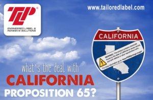 PROP 65 Label Requirements, PROP 65 Labels,PROP 65 Warning Labels, Prop 65 Label, PROP 65 Label Warning Requirements, California PROP 65 Warning Label Requirements, Tailored Label Products, TLP