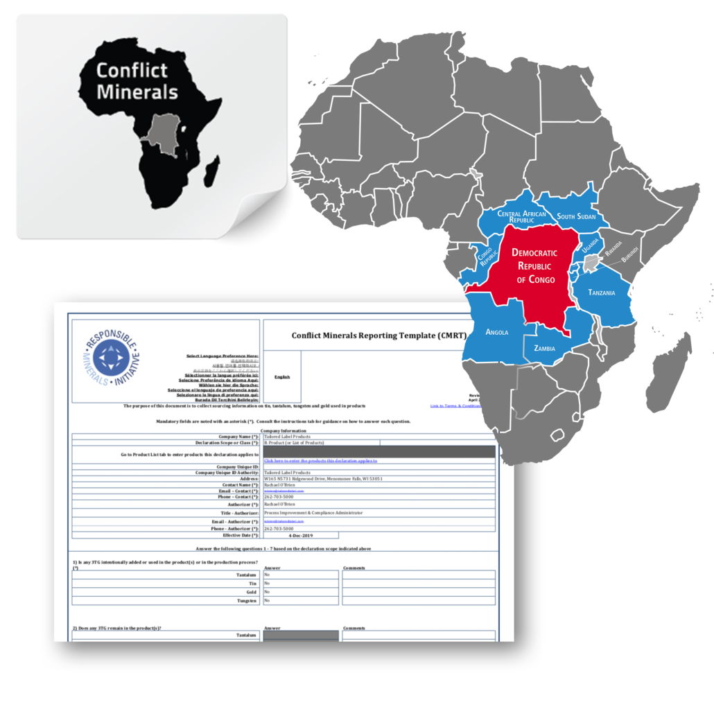 Conflict Minerals Compliant Label, Conflict Minerals Compliance, Conflict Minerals Regulation, Conflict Minerals Compliance Label, Conflict Mineral Compliance Label