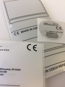 CE Labels at TLP