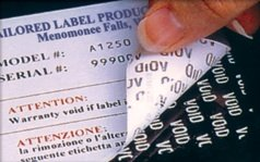 Tamper Evident Labels, Tamper Proof Labels, VOID Labels, Security Labels, Destructible Labels, Custom Security Labels, Tailored Label Products, TLP