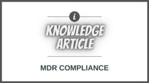 Medical Device Labels, MDR Labels, UDI Labels