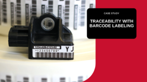Printing Barcode Labels, Preprinted barcode labels, Automotive labeling