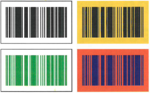 Barcode Labels, Acceptable Barcode Labels