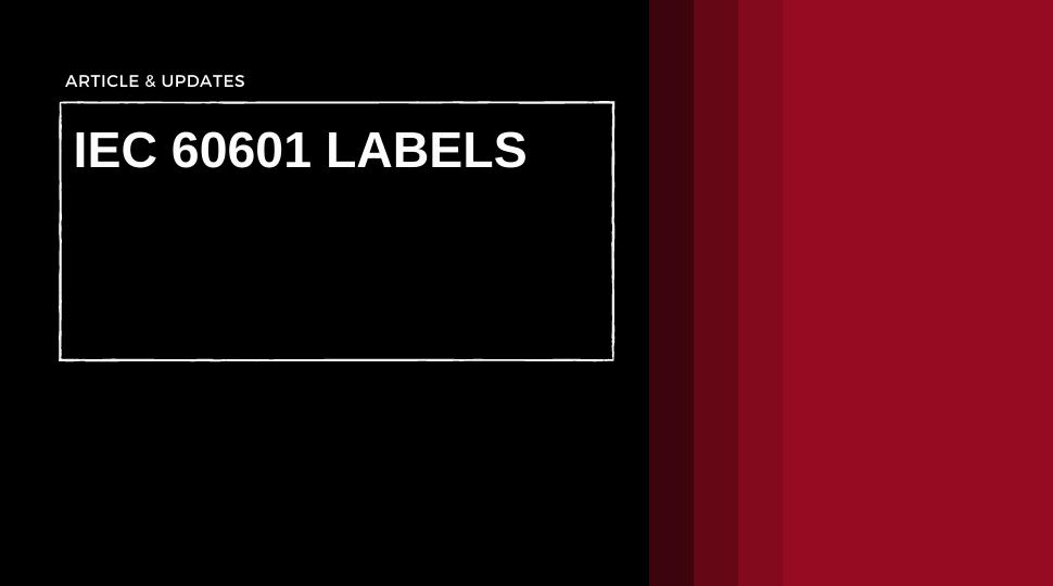 IEC 60601-1 Labels, UL Labels